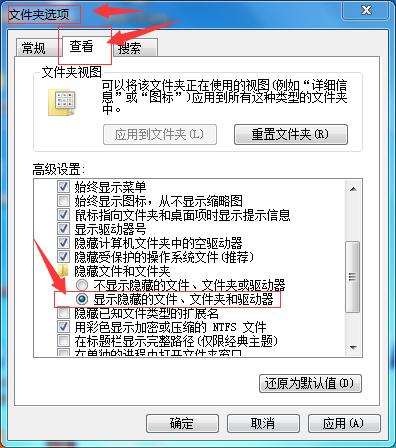 如何设置显示隐藏文件